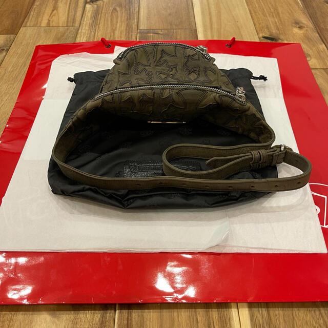 Chrome Hearts(クロムハーツ)のクロムハーツ クロスパッチ スナットパック ミニ snat pack mini メンズのバッグ(ボディーバッグ)の商品写真