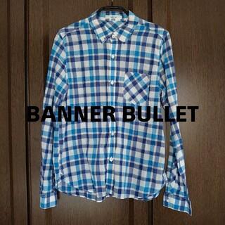 バナーバレット(Banner Barrett)のバナーバレット チェックシャツ ブルー(シャツ/ブラウス(長袖/七分))