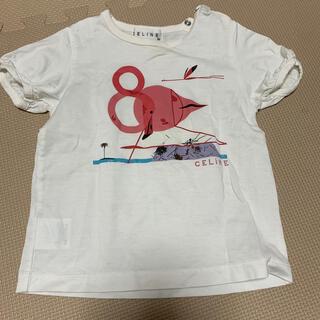 セリーヌ(celine)のCELINE Tシャツ ベビー キッズ 90  半袖 キッズ(Tシャツ/カットソー)