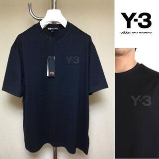 Y-3 - 新品 L y-3 adidas 胸ロゴTシャツ 黒 460