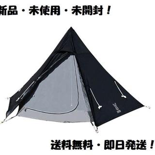 DOPPELGANGER - 【新品・未使用】DOD ワンポールテント テント ST3-44-BK【送料無料】