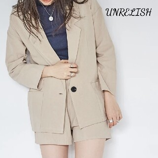 UNRELISH - 新品 UNRELISH ジャケットセットアップ