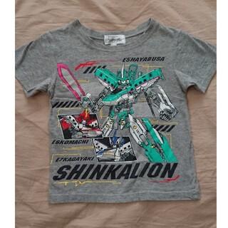 100cm☆半袖Tシャツ☆シンカリオン☆男の子☆使用品(Tシャツ/カットソー)
