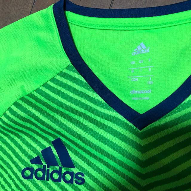 adidas(アディダス)のアディダス 男子150上下 キッズ/ベビー/マタニティのキッズ服男の子用(90cm~)(Tシャツ/カットソー)の商品写真