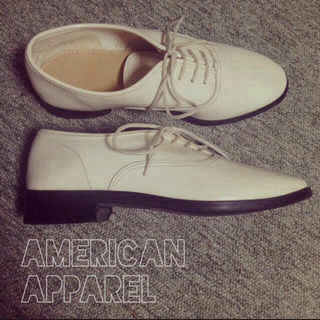 アメリカンアパレル(American Apparel)のB♡様 11/20までお取り置き(ローファー/革靴)