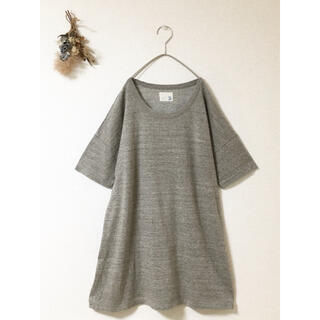 daily wear comitto/コットンロングカットソー チュニック