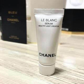シャネル(CHANEL)のCHANEL ルブラン、ミニ巾着付き(美容液)