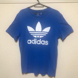 adidas - アディダスオリジナルス Tシャツ ビッグロゴ 半袖 Lサイズ