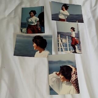 富田靖子どっきん四国船上生写真セット3️⃣(女性タレント)