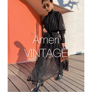 アメリヴィンテージ(Ameri VINTAGE)の*美品* アメリヴィンテージ MANY WAY MIX DOT DRESS(ロングワンピース/マキシワンピース)