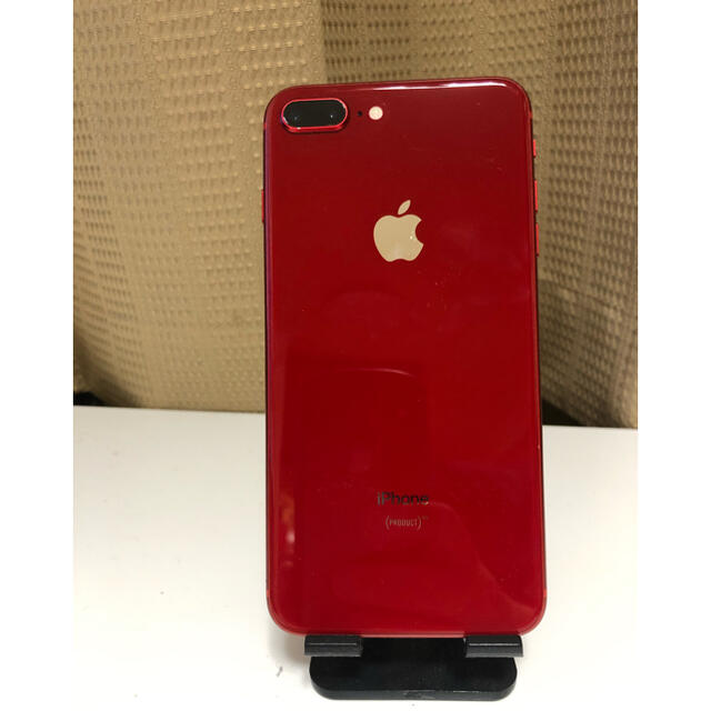 iPhone(アイフォーン)の最終値下げ iPhone8plus  64G  レッド スマホ/家電/カメラのスマートフォン/携帯電話(スマートフォン本体)の商品写真