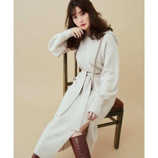 【新品】Herlipto Relax Hooded Knit Dress(ロングワンピース/マキシワンピース)