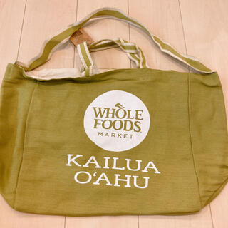 ハワイ Whole Foods ホールフーズ トートバッグ(トートバッグ)