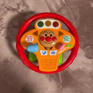 バンダイ(BANDAI)のアンパンマン ミュージックでGO!のりのりドライブハンドル(知育玩具)