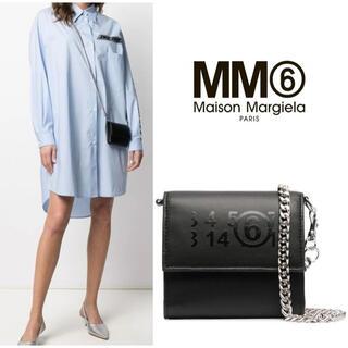 エムエムシックス(MM6)の【新作】MM6 メゾンマルジェラ チェーンウォレット(ショルダーバッグ)