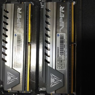 PATRIOT VIPER DDR4 2666Mhz 16gキット(8g×2)