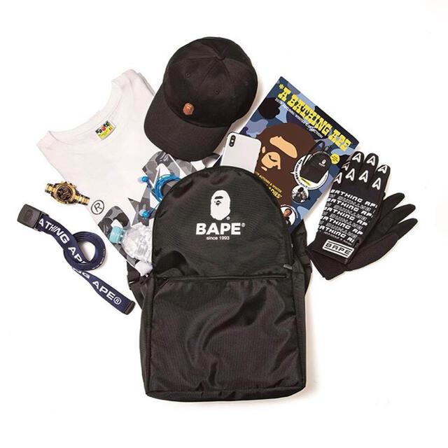 A BATHING APE(アベイシングエイプ)のBAPE◆A BATHING APE◆バッグパック/リュック◆付録ノベルティ メンズのバッグ(バッグパック/リュック)の商品写真