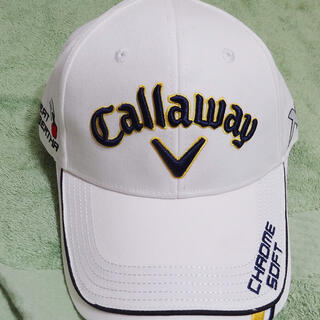Callaway - 新品 キャロウェイ ゴルフキャップ 帽子 白/ゴルフ