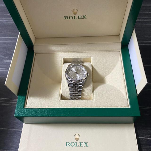 ROLEX(ロレックス)のロレックス デイトジャスト シルバー 最新モデル 126234  メンズの時計(腕時計(アナログ))の商品写真