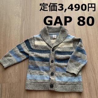 ベビーギャップ(babyGAP)の定価3,490円 GAP ニット カーディガン Baby GAP(ニット/セーター)