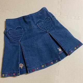 ニットプランナー(KP)のKP ニットプランナー デニム スカート 120(スカート)