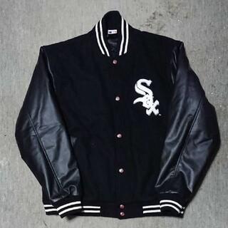 Majestic - WHITE SOX スタジャン【L】中綿 ホワイトソックス ジャケット