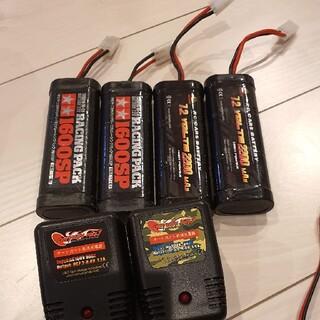 (ラジコン)ニッカドバッテリー4本充電器付きセット