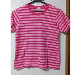 エルプラネット(ELLE PLANETE)のELLE planet 半袖シャツ ボーダー(Tシャツ(半袖/袖なし))