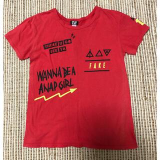 アナップキッズ(ANAP Kids)のANAP ガール!Tシャツ(Tシャツ/カットソー)