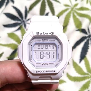 ベビージー(Baby-G)のCASIO Baby-G bg-5600wh ジーショック ホワイト×ホワイト(腕時計)