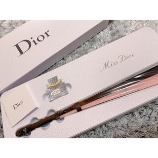 ディオール(Dior)のDIOR 扇子香水セット(ノベルティグッズ)