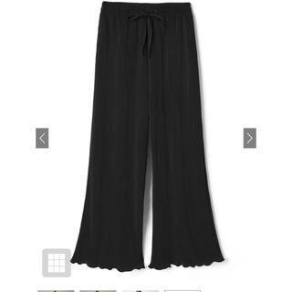 GRL - GRL 裾メロウカットプリーツフレアパンツ