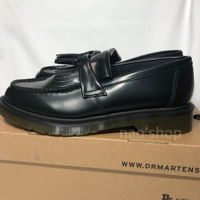 Dr.Martens(ドクターマーチン)の【新品】ドクターマーチン エイドリアン タッセル ローファー ブラック 26.0 メンズの靴/シューズ(ドレス/ビジネス)の商品写真