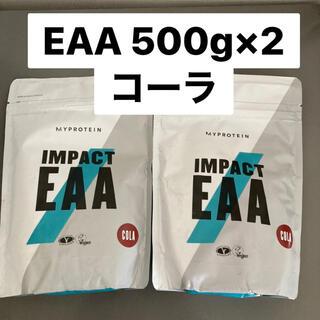 【処分品】マイプロテイン EAA コーラ 500g×2(トレーニング用品)