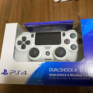 PlayStation4 - PS4ワイヤレスコントローラー DUALSHOCK4 グレイシャー・ホワイト