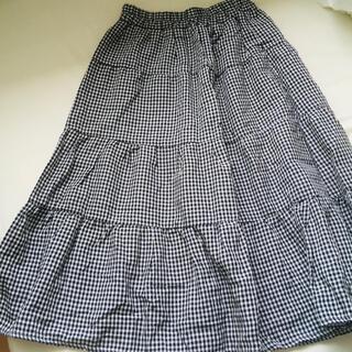 ゴゴシング(GOGOSING)のギンガムチェックスカート(ひざ丈スカート)