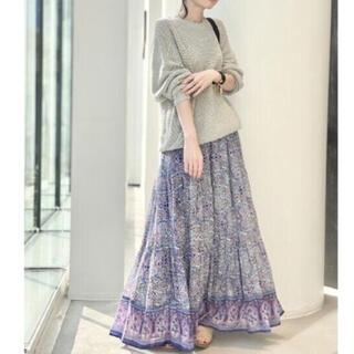 L'Appartement DEUXIEME CLASSE - 【BLUE BOHEME/ブルー ボヘム】Cotton Tiered Skirt