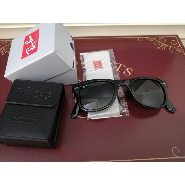 Ray-Ban(レイバン)のレイバン サングラス ウェイファーラー 折りたたみ メンズ レディース  レディースのファッション小物(サングラス/メガネ)の商品写真