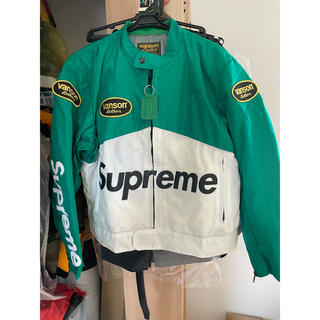 シュプリーム(Supreme)のSupreme Vanson Leathers Cordura Jacket M(ライダースジャケット)