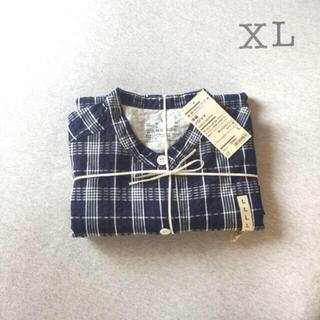 ムジルシリョウヒン(MUJI (無印良品))の無印良品       脇に縫い目のない サッカー織り半袖パジャマ  XL(パジャマ)