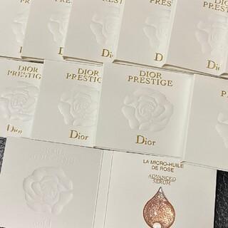 クリスチャンディオール(Christian Dior)のディオール プレステージ マイクロ ユイルドローズ セラム 美容液(美容液)