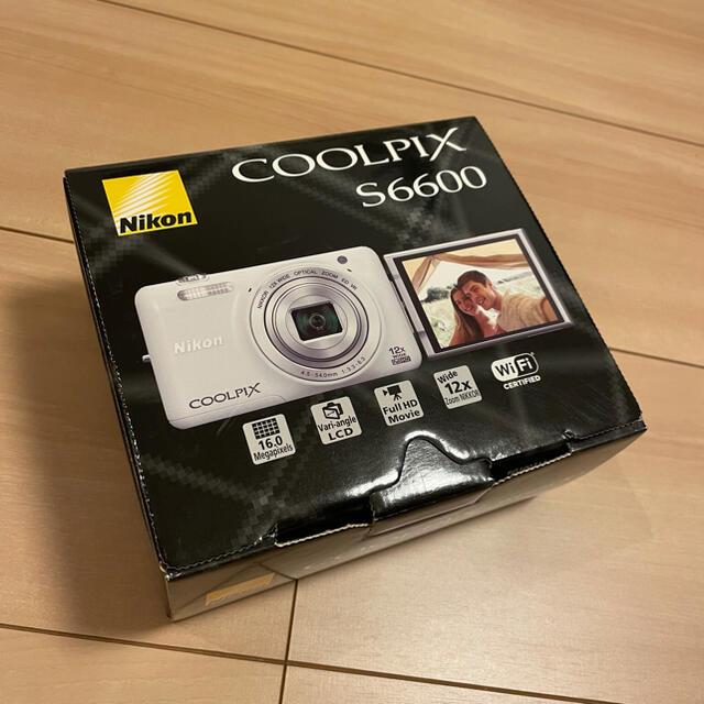 Nikon(ニコン)のCOOLPIX S6600 スマホ/家電/カメラのカメラ(コンパクトデジタルカメラ)の商品写真