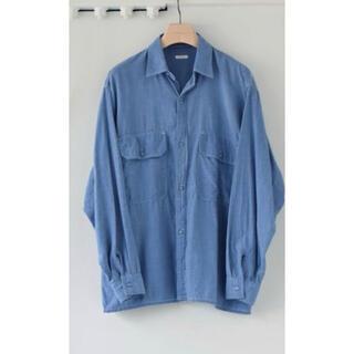コモリ(COMOLI)のCOMOLI 21SS ベタシャンCPOシャツ SAX 1(シャツ)