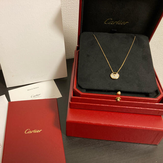 Cartier(カルティエ)のカルティエ・アミュレット ドゥ カルティエ ネックレス、XS レディースのアクセサリー(ネックレス)の商品写真