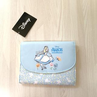 Disney - 定価2750円 新品 ディズニー アリス 母子手帳ケース マルチケース ジャバラ