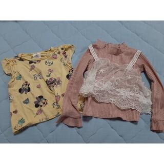ディズニー(Disney)のロングシャツ、Tシャツ 2枚セット 95(90~100)  ディズニー レース(その他)