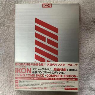 アイコン(iKON)のWELCOME BACK -COMPLETE EDITION-(初回生産限定/D(K-POP/アジア)