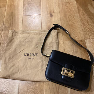 celine - セリーヌ 馬車金具 ショルダーバッグ