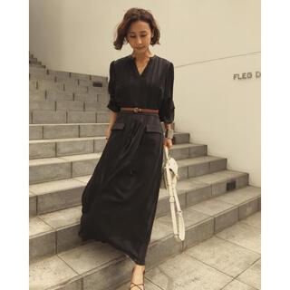 アメリヴィンテージ(Ameri VINTAGE)のアメリ CHECK RETRO SLENDER DRESS ドレス(ロングワンピース/マキシワンピース)