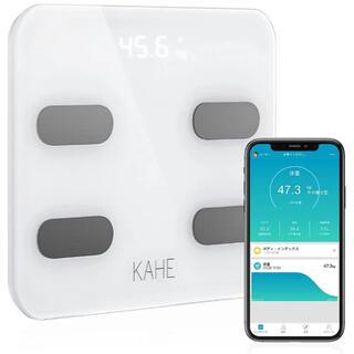 体重計 体組成計 Bluetooth対応 アプリで健康管理 20項目測定可能(体重計/体脂肪計)